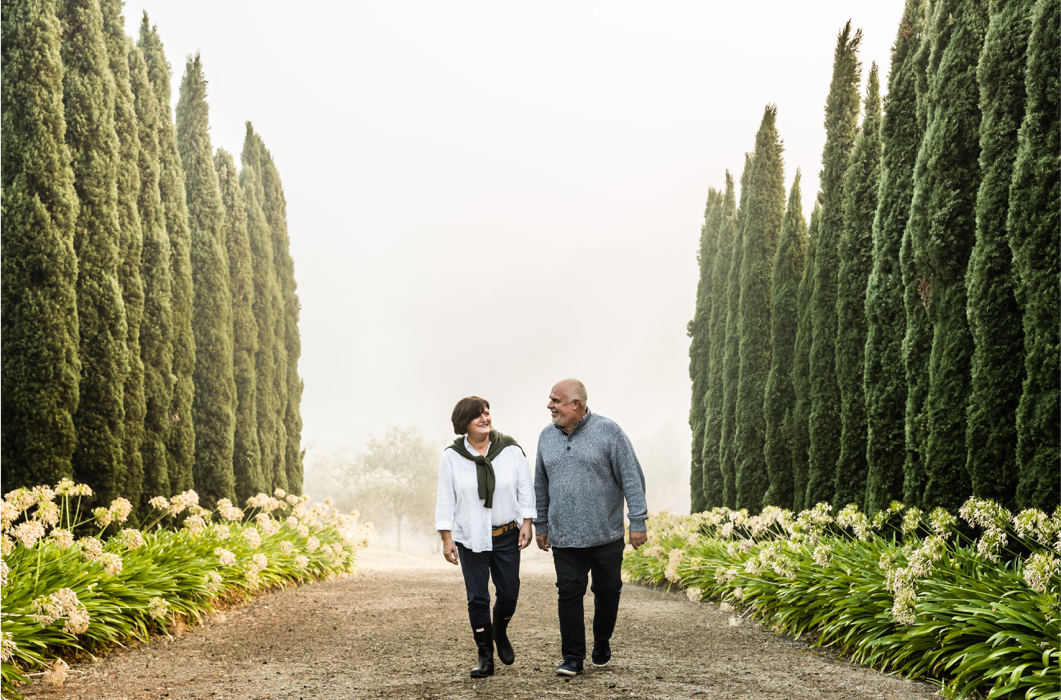 Pietro Gallo Estate Founders John Di Pietro and Anna Gallo