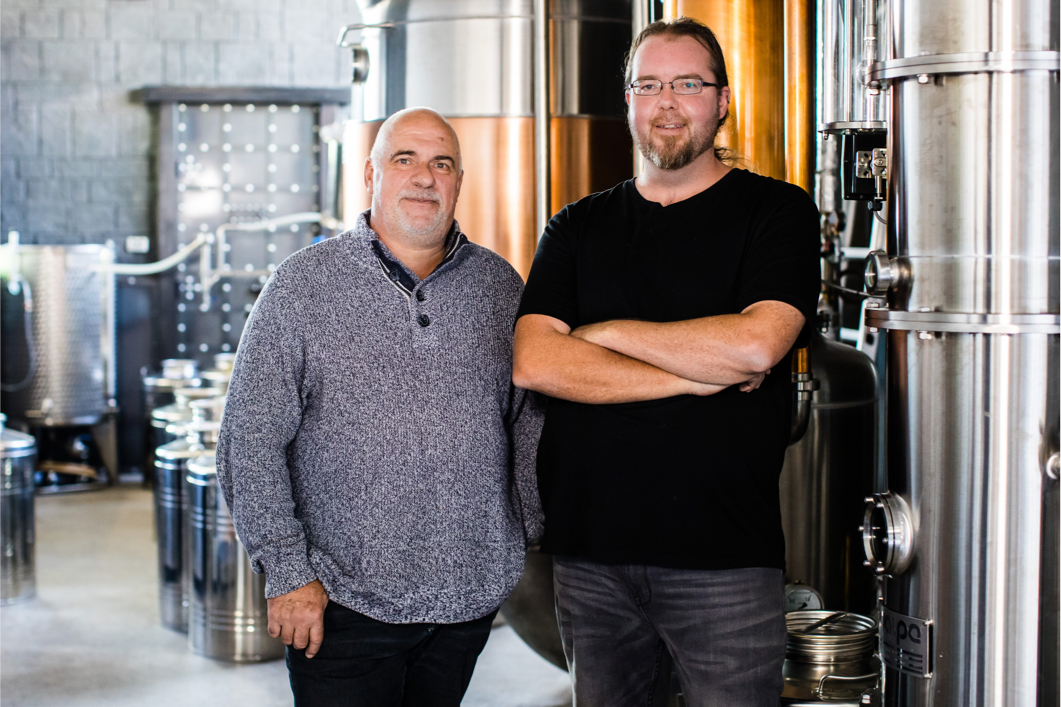 Pietro Gallo Distillery - Director John and Head Distiller Nathan